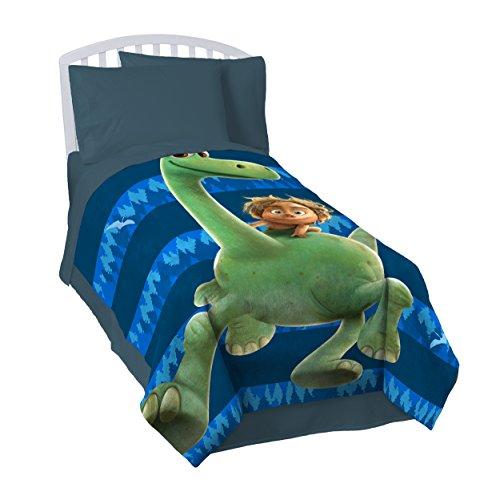 "Disney/Pixar The Good Dinosaur 'Carnivore' 62"" x 90"" Plush Twin Blanket"