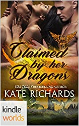 Paranormal Dating Agency: Claimed by Her Dragons (Kindle Worlds Novella)