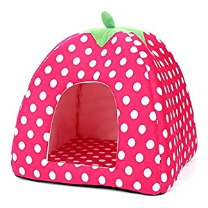 85%OFF BalataHome Cat House Self Warming Pet Cando Soft Sponge Kitten Dome Tent Dog Bed Cushion Kitty Shelter for Small Animals