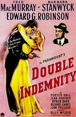 Amazon.com: Double Indemnity - 1944 - Movie Poster: Posters & Prints