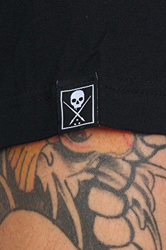 Sullen T-Shirt Royal Heart Schwarz
