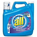 All 100 Loads Liquid Laundry Detergent, Exhilarating Lavender, 150 Ounce
