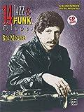 14 Jazz & Funk Etudes: E-flat Instrument (Alto Sax, Baritone Sax), Book & CD