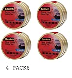 Scotch(R) Home and Office Masking Tape 3436-3, 3/4-inch x 60 Yards, 12 ROLL,4 Pack