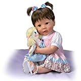 Linda Murray Lifelike Molly And Rags Poseable Talking Baby Doll by The Ashton-Drake Galleries