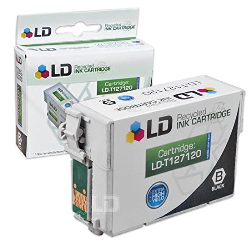 LD Products Remanufactured Ink Cartridge Replacement for Epson T1271 ( Black )