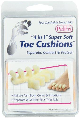 PediFix '4 in 1' Super-Soft Toe Cushions, 2 Pack by Pedifix