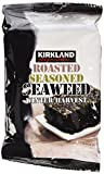 10 Pack Kirkland Signature Roasted Seasoned Seaweed Winter Harvest- 17gm Package