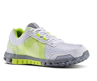 a84594ba020ba3 Reebok Realflex Run 2.0 Baskets de Running pour homme Tempo V54333 RRP £ 60  - Blanc - blanc,: Amazon.fr: Chaussures et Sacs