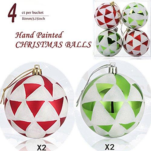 4 Pack Ornament Set - 1