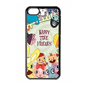 iPhone 5c Cell Phone Case Black Happy Tree Friends Bwmpk