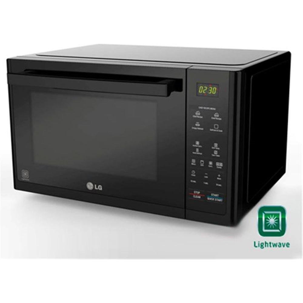Lg microondas con grill mj3294bdb: Amazon.es