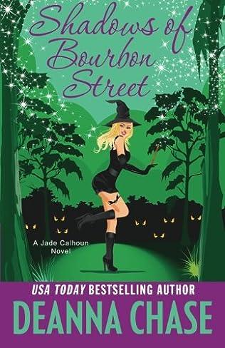 book cover of Shadows of Bourbon Street