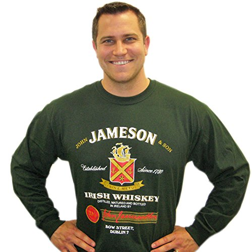 jameson-t-shirt-long-sleeve-dark-green-large