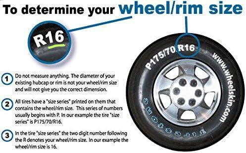 Set of 4 Chrome 17 Hub Cap Wheel Covers for Chevrolet Malibu /& Pontiac G6