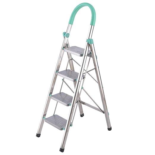 XSJZ Escalera de Aluminio Escalera de Mano de Acero ...
