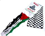 Palestine Arabian Scarf Shemagh , Used In Demonstrations,other Occasions , Fashionable,Warm In Winter & protects your Neck & skin from dust and heat in Summer