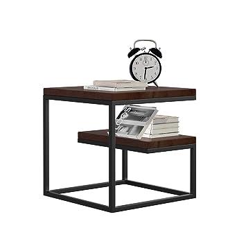 Amazon.com : TLTLZDZ Square Table, Modern Minimalist Small ...