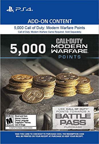 5,000 Call of Duty: Modern Warfare Points - PS4 [Digital Code]