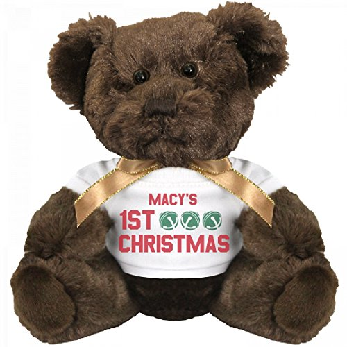 Macy's 1st Christmas Bear: Small Teddy Bear Stuffed - Macy's Open Christmas Day