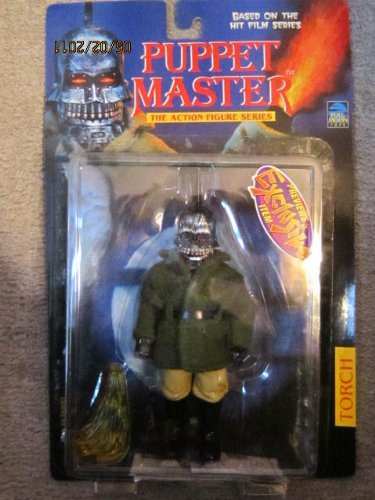 TORCH ORIGINAL 1998 ACTION FIGURE PUPPET MASTER Nick & Dent by FULL MOON TOYS -