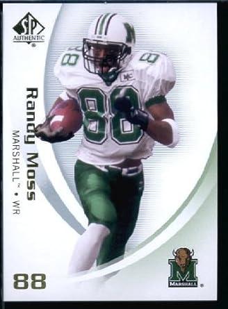 2010 Upper Deck SP Authentic NCAA Football Card IN SCREWDOWN CASE  76 Randy  Moss Mint 3021c4a32