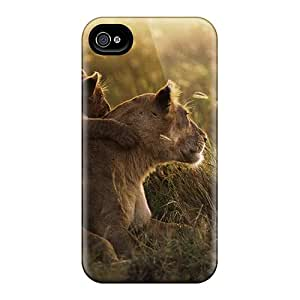 New Arrival Case Cover With LkVcB9849WltGd Design For Iphone 5/5s- African Lion