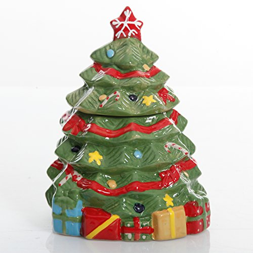 (Gibson Home Mirthful Treats 7.9in Christmas Tree Cookie)
