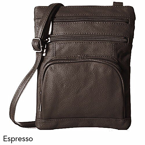 Handbags Soft Women Handbags Crossbody for Coffee Small Leather Leather with Leather Genuine YwWT8qS