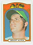 1972 Topps Baseball 383 Brant Alyea Oakland Athletics Near-Mint