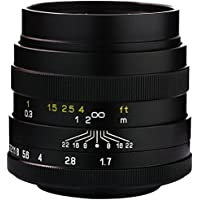 Mitakon 42.5mm f/1.2 (M43) Standard-Prime Lens for Micro Four Thirds MFT M43 Cameras
