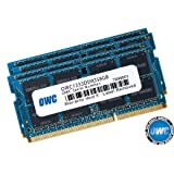 """OWC 32GB ( 4x8GB ) PC3-10600 DDR3 1333MHz SODIMM 204 Pin Memory Upgrade kit For Mid 2010/2011 27"""" iMac Core i5 and Core i7 models & Mid 2011 21.5"""" iMac models. Model OWC1333DDR3S32S"""