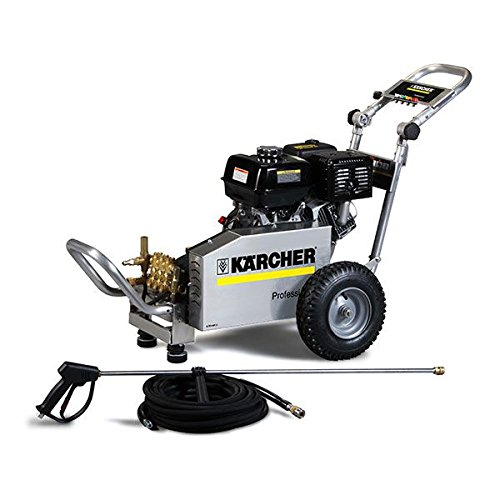 Karcher-HD-2527-PB-AL-Cold-Water-Pressure-Washer-Honda-Engine-25-GPM-2-700-Psi-196-Cc-BlackChromeGold