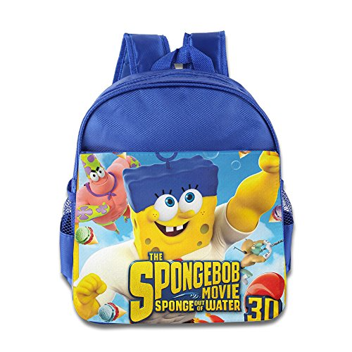 The SpongeBob Sponge Out Of Water Kids School Backpack Bag