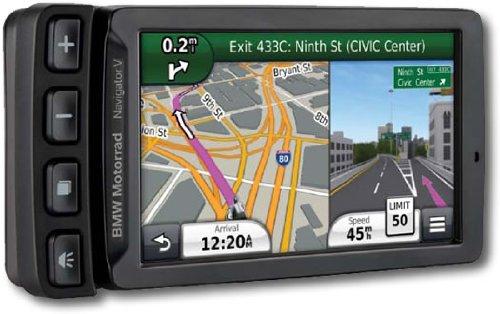 Bmw Navigation System (BMW Motorrad Navigator V with Cradle)