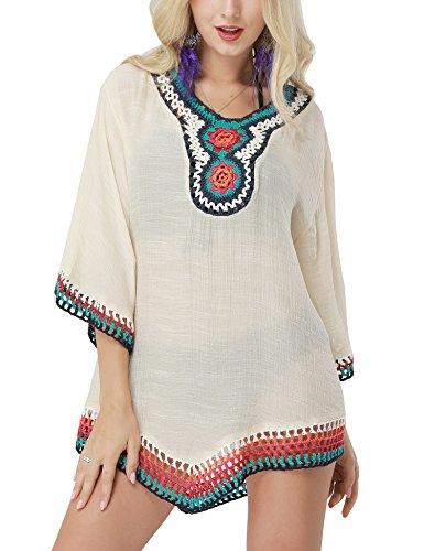Avidwish Crochet Rainbow Backless Swimsuits product image