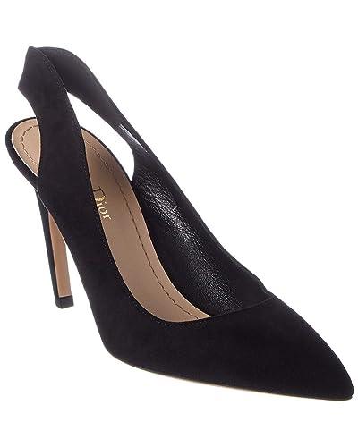 a83eb598a1 Amazon.com   Dior Obsessed Suede Slingback Pump, 35.5, Black   Pumps