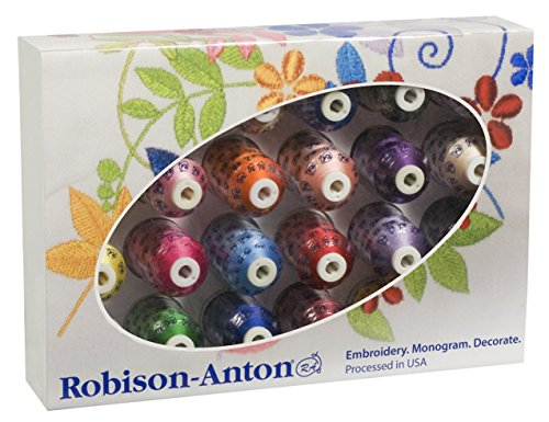 Robison-Anton Rayon Top Embroidery Thread Set