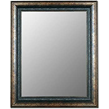 Hitchcock butterfield milano bronzed black for Miroir 40 x 50