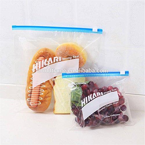 Slide-Rite Plastic Multi-Purpose Storage Slider Bag, 500 Gm, 1 Kg. ( Pack Of 30 Piece ) Price & Reviews