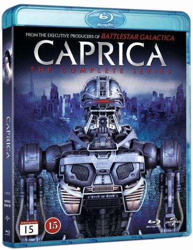Caprica (Complete Series) – 5-Disc Set [ Blu-Ray, Reg.A/B/C Import – Sweden ]