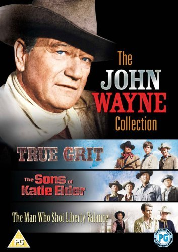 The John Wayne Collection  True Grit  Sons Of Katie Elder  Man Who Shot Liberty Valance   Import Anglais