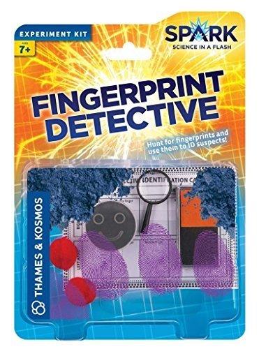 Thames & Kosmos Fingerprint Detective Spark Science Experiment Kit