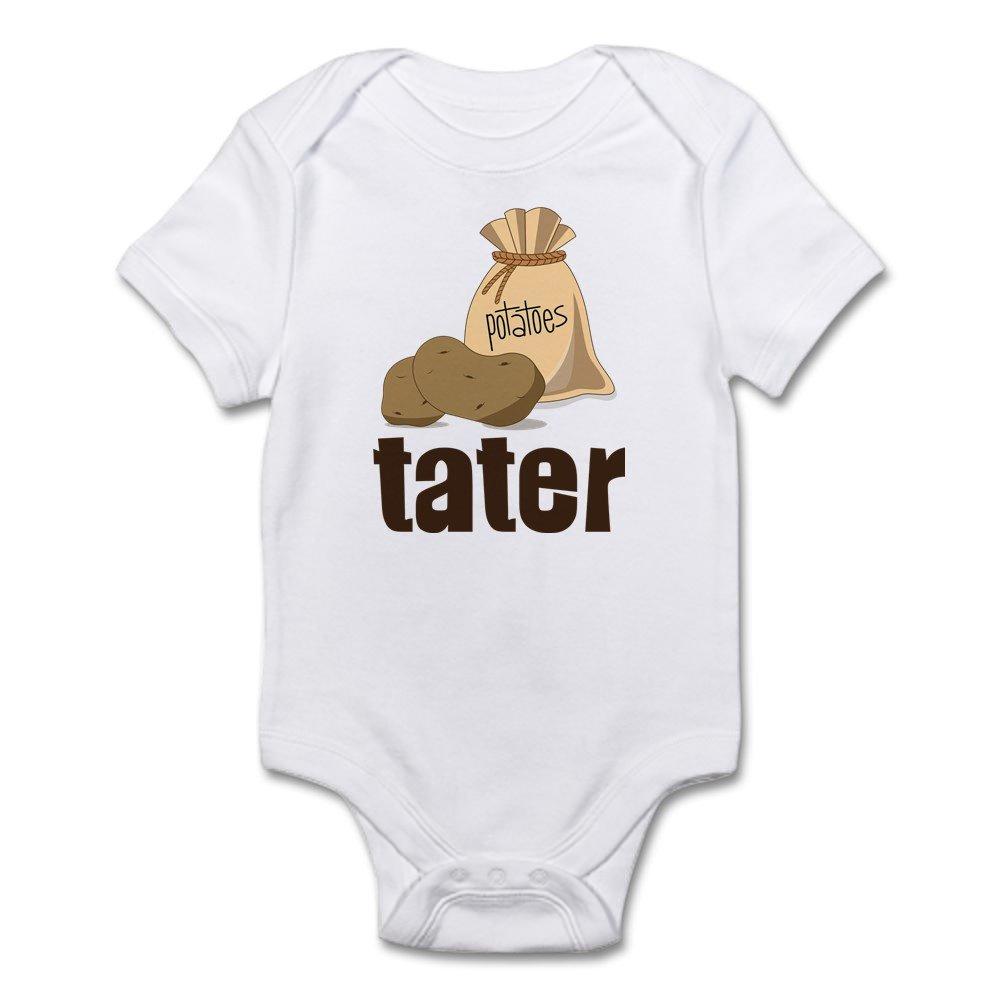 Tater CafePress Cute Infant Bodysuit Baby Romper