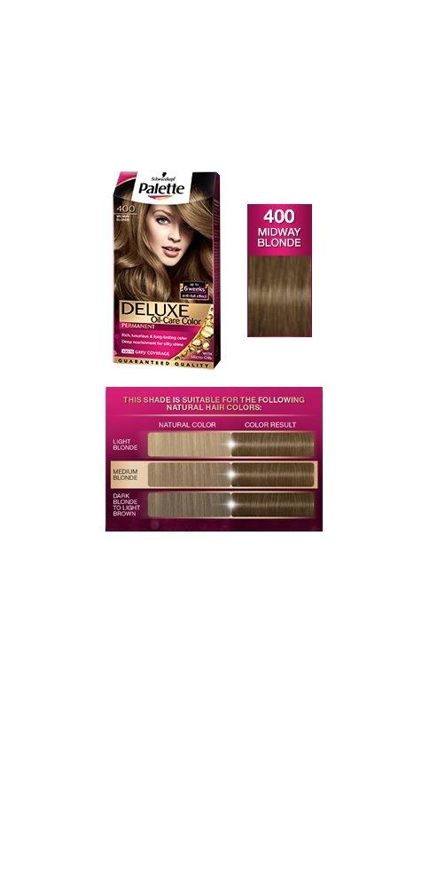 Amazon Palette Deluxe 400 Midway Blonde Permanent Hair Color