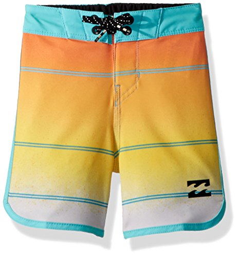 s' 73 X Stripe Boardshort, Yellow, 7XL (Billabong Boys Clothing)