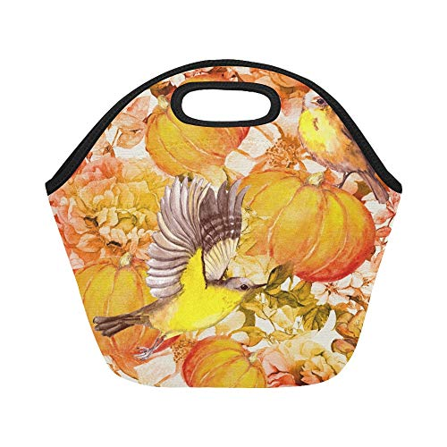 insulated neoprene lunch bag thanksgiving