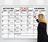 HUUUGE Wall Calendar, 48-Inch by 72-Inch, Extra Large Date Boxes, Heavy Duty Laminate/Paper, Comes Rolled, Perfect for Organizing