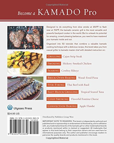 The Kamado Smoker & Grill Cookbook: Delicious Recipes and Hands-On Techniques for Mastering the Worlds Best Barbecue: Amazon.es: Chris Grove: Libros en ...