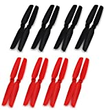 RAYCorp? 6030 6x3 Propellers. 16 Pieces(8 CW, 8 CCW) Black & Red Genuine & 6-inch Quadcopter and Multirotor Props by RAYCorp